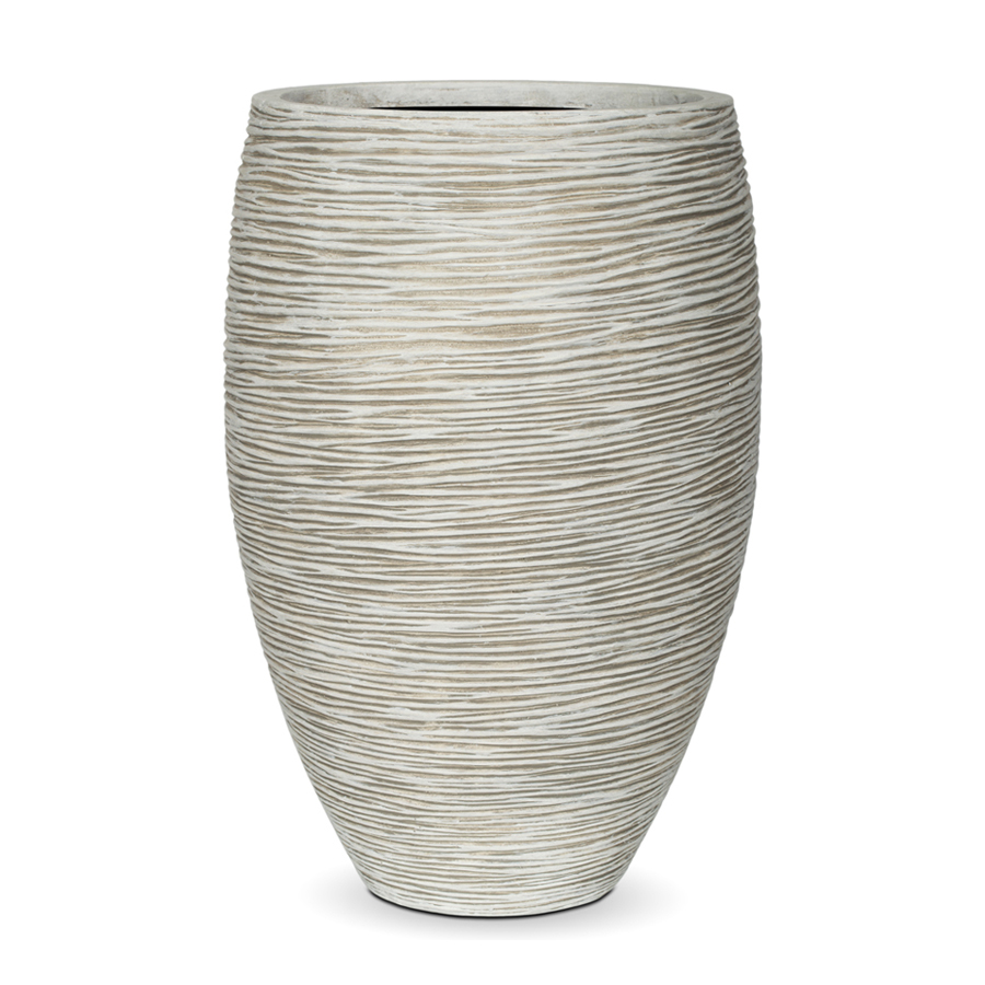 Capi Europe outdoor vase elegant deluxe rib - capi europe