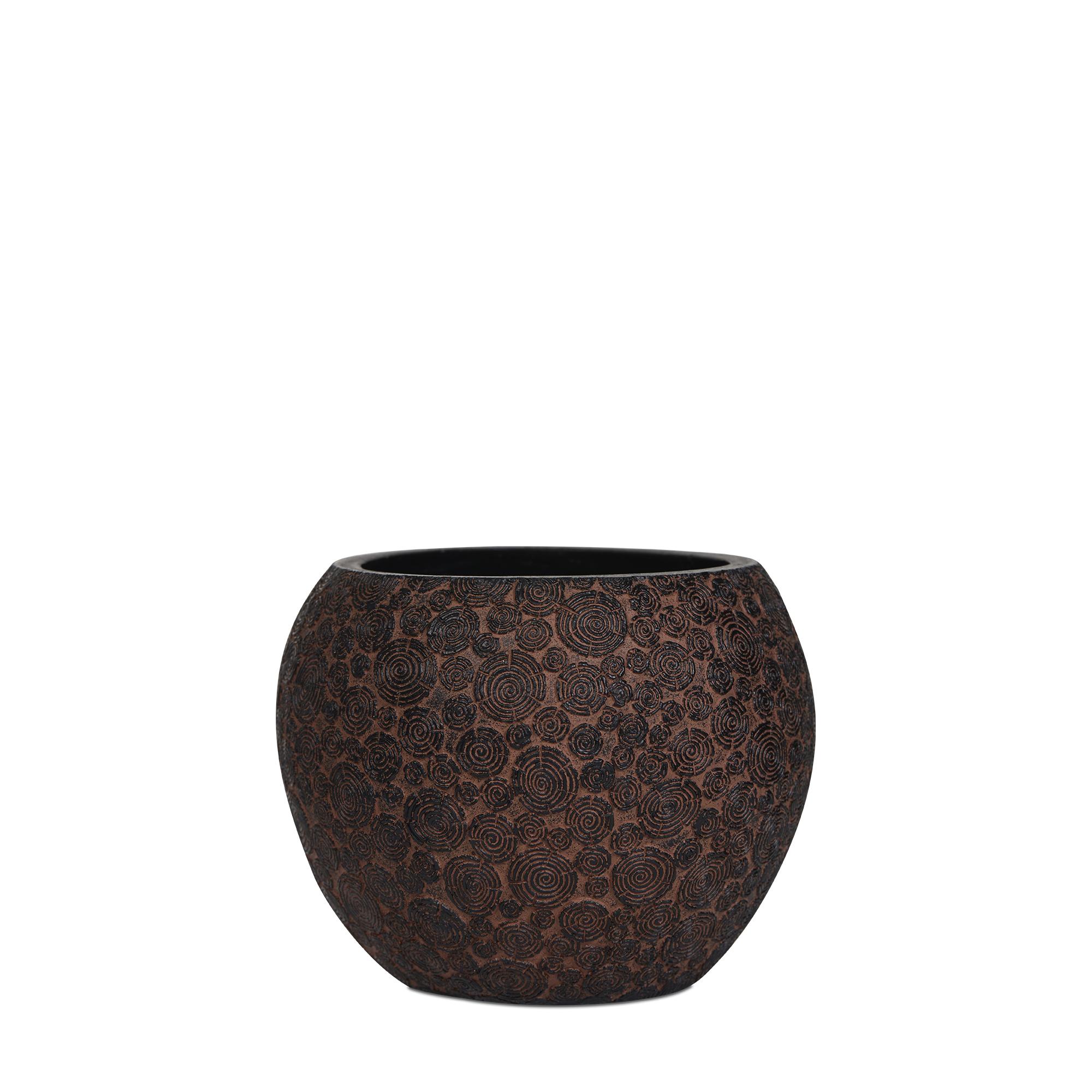 Vase Ball Wood Indoor